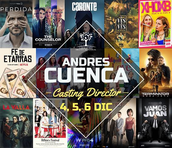 Andrés Cuenca, Director de Casting.