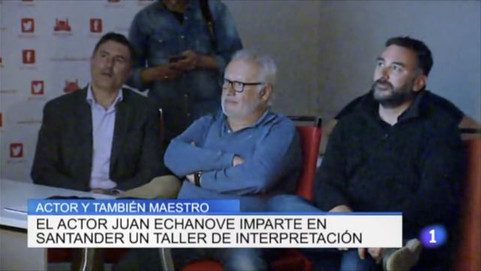 Taller de Cine, Juan Echanove, Laboratorio Creativo Audiovisual, Santander, Cantabria, TVE,