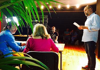 Laboratorio Creativo Audiovisual de Cantabria. Luis Gimeno. Taller de Casting & Interpretación