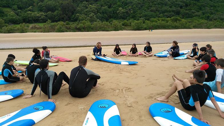Cinema Surf Camp, Clases de Surf, Campam