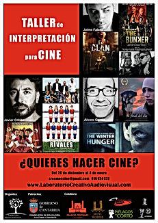 Taller de Cine Navidades Cantabria
