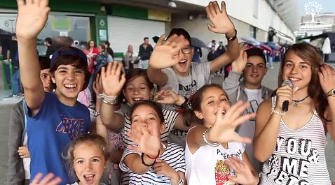 UN FINDE... ¡TVUN FINDE... ¡DE TV! Actividad para niños y niñas, jovenes, juvenil, Ayuntamientos, Cantabria