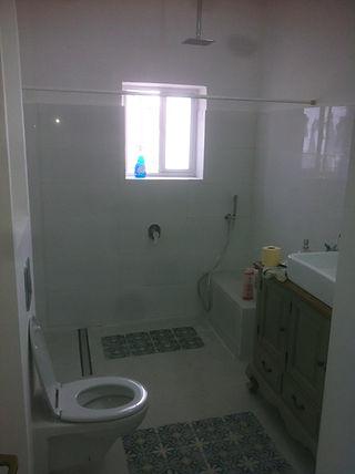 מקלחון גדול עם אינטרפוץ 4 דרך