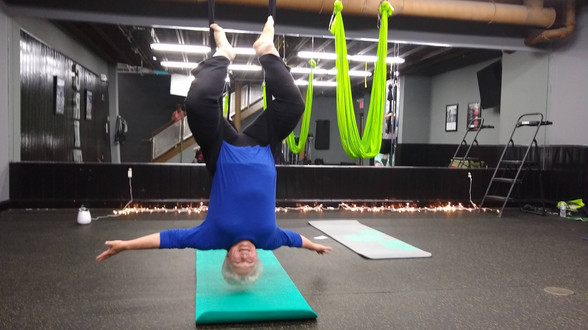 An Intro into Aerial Yoga