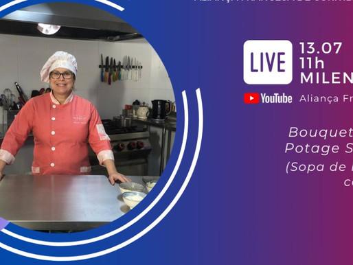 Aula Chef Milene Aguiar na Aliança Francesa Curitiba