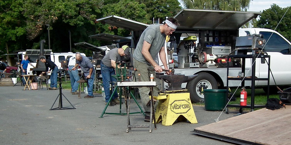 Spring Farrier Competition - Jeff Hampton