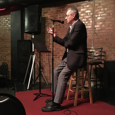 We welcome emerging and published writers alike. Pictured: Kentucky Poet Laureate, Frederick Smock.