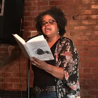 We always feature local authors, like Leesa Cross Smith.