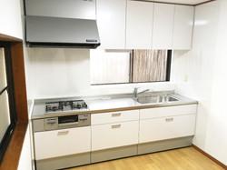 あるゾウリフォーム館キッチンの施工事例
