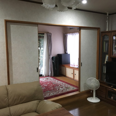 あるゾウリフォーム館 内装のリフォーム  和室を洋室に変更before.jpg