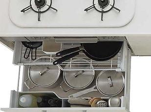 あるゾウリフォーム館キッチンの施工事例 シンラ
