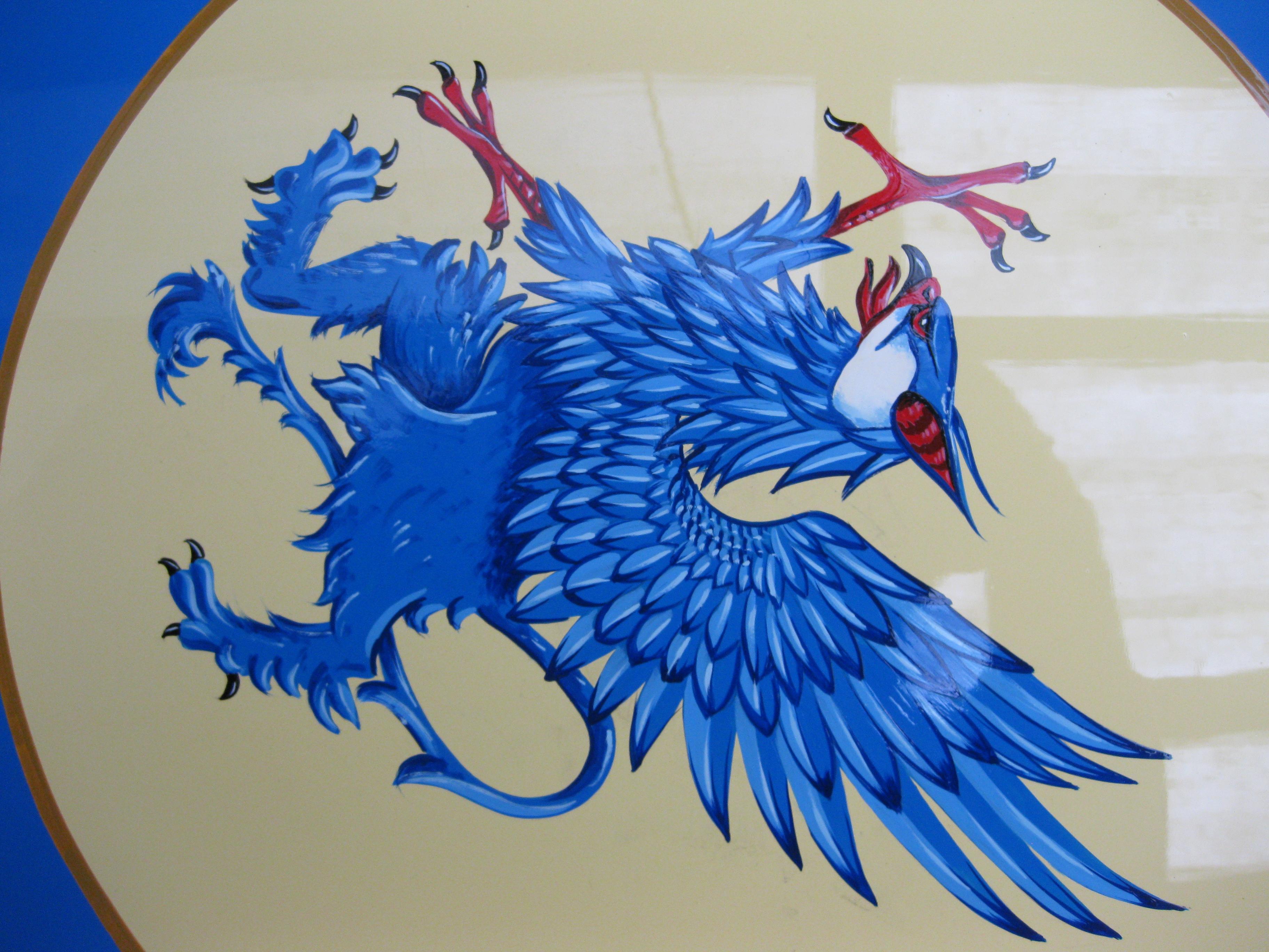 Blue griffin