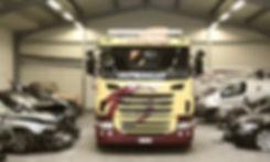 Scania Beschriftung in Winterthur