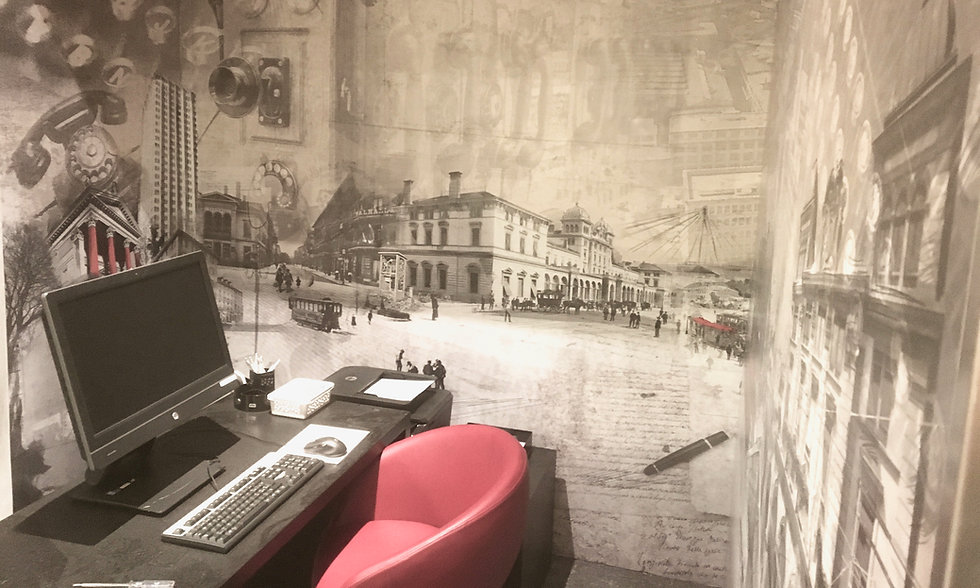 Wandbild für Hotel Wartmann