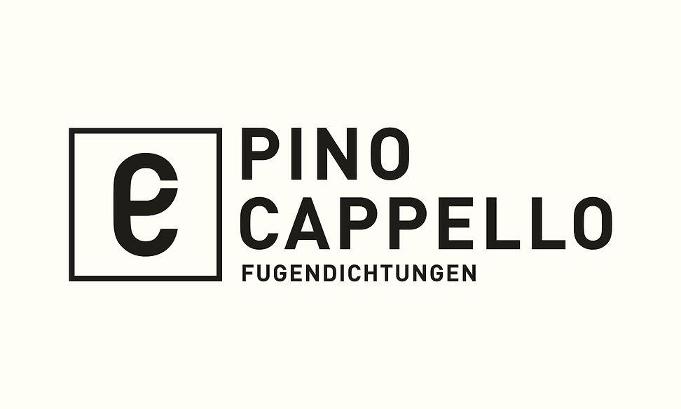 Typografisches Logo für Pino Cappello in Winterthur Seuzach