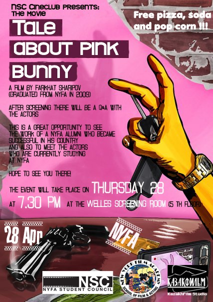 Screening The Tale About Pink Bunny