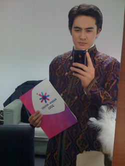 The Anchorman of AsianWinterGames