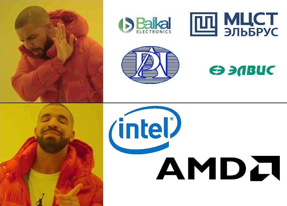 Росгвардия и отношение к производителям микропроцессоров