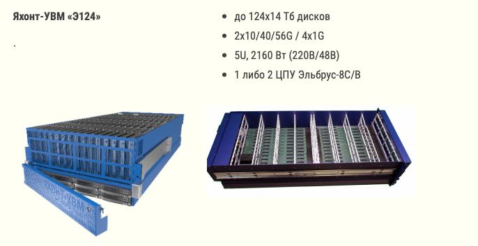 Яхонт-УВМ Э124 на базе микропроцессора Эльбрус-8С