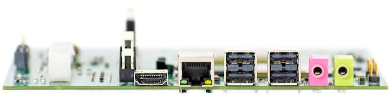 E1С-mITX на бзе микропроцессора Эльбрус-1С+ каналы ввода\вывода