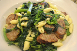 Cavatelli, Broccoli Rabe & Sausage