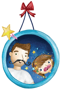 Sparkella Daddy Daughter picture frame i