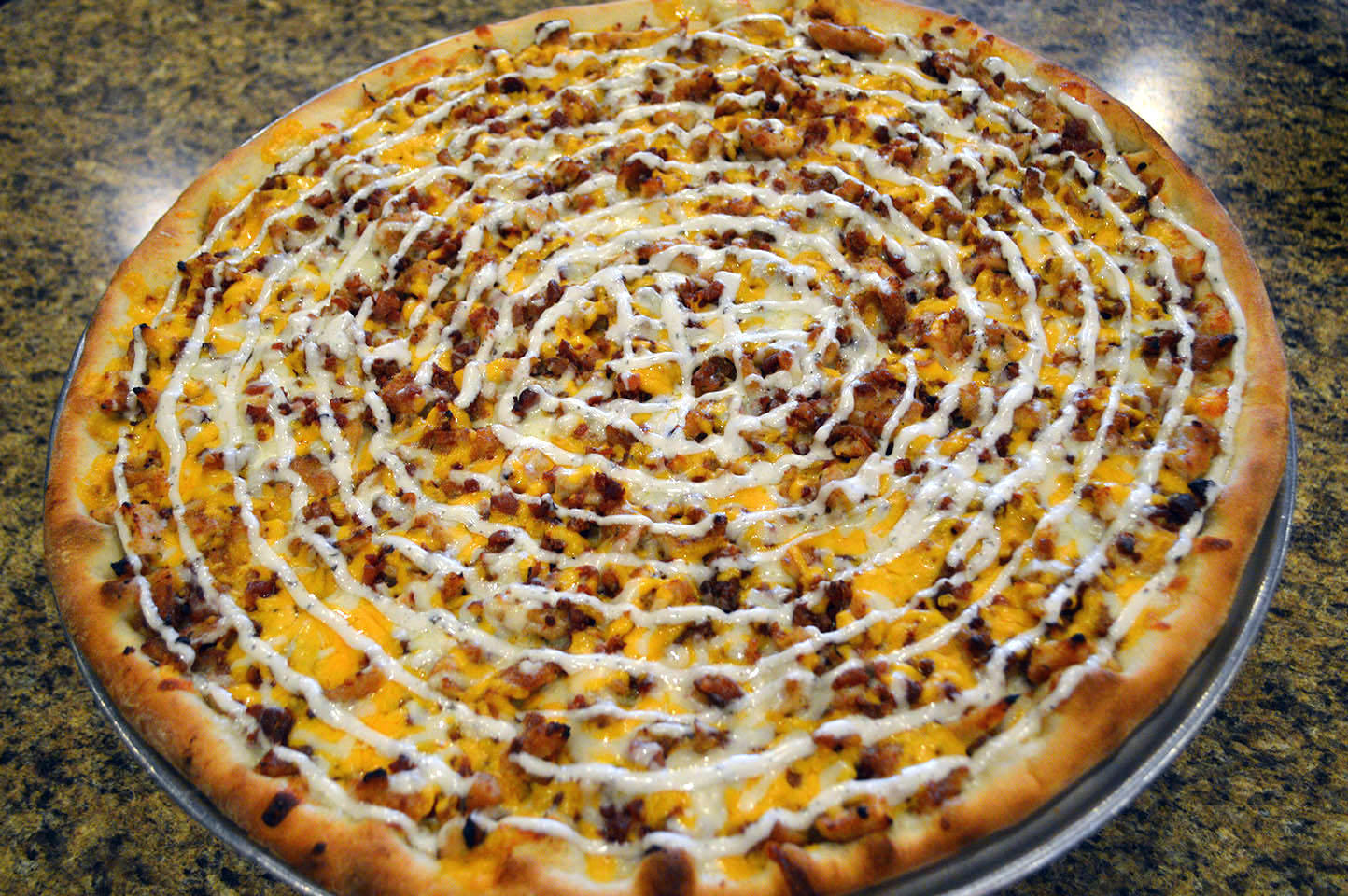 Bacon Ranch Pizza