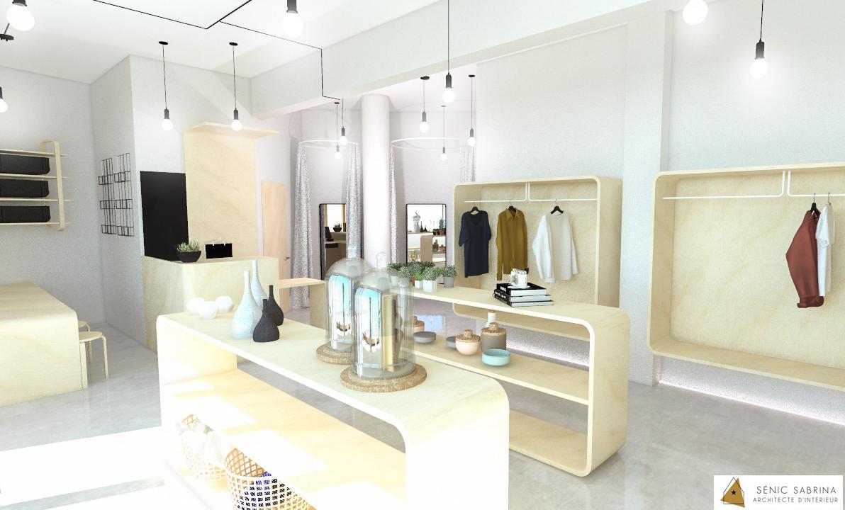 Création d'un concept store