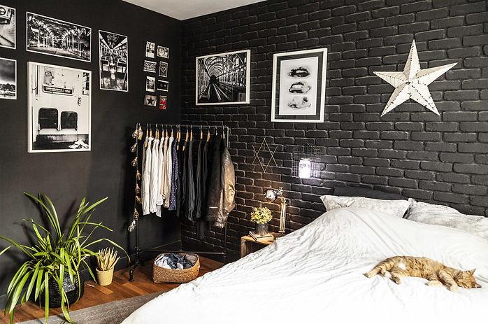 aménagement chambre parentale décoration indus