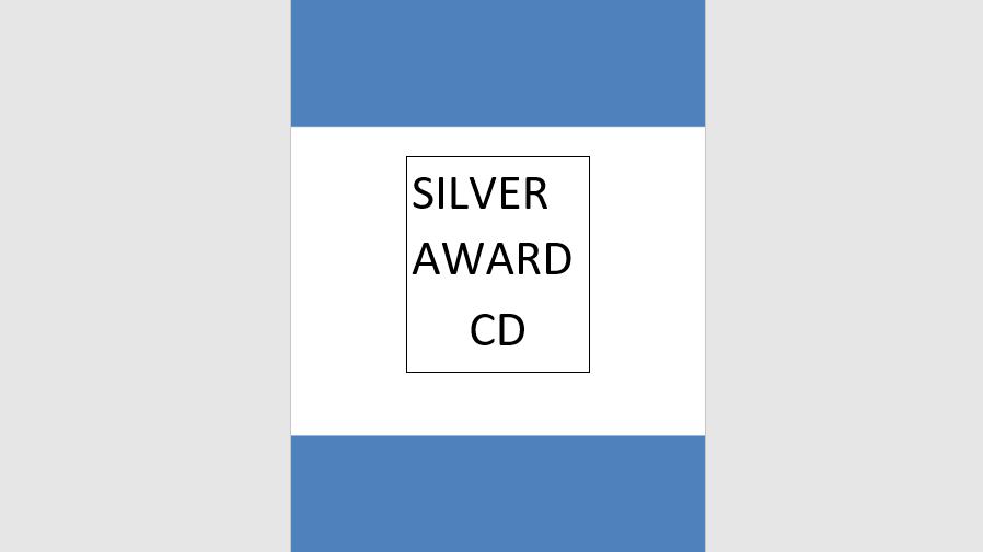Silver Award Syllabus Music