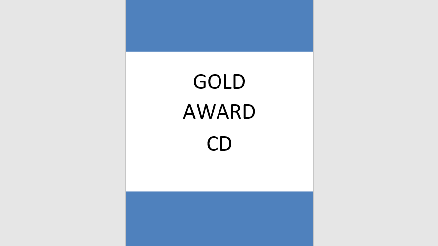 Gold Award Syllabus Music