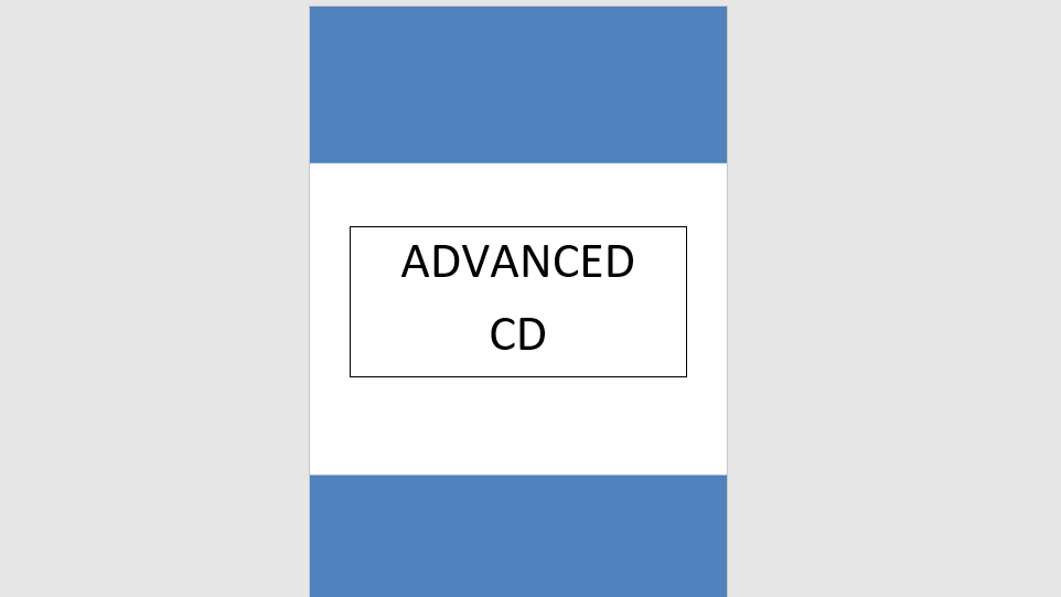 Advanced Syllabus Music