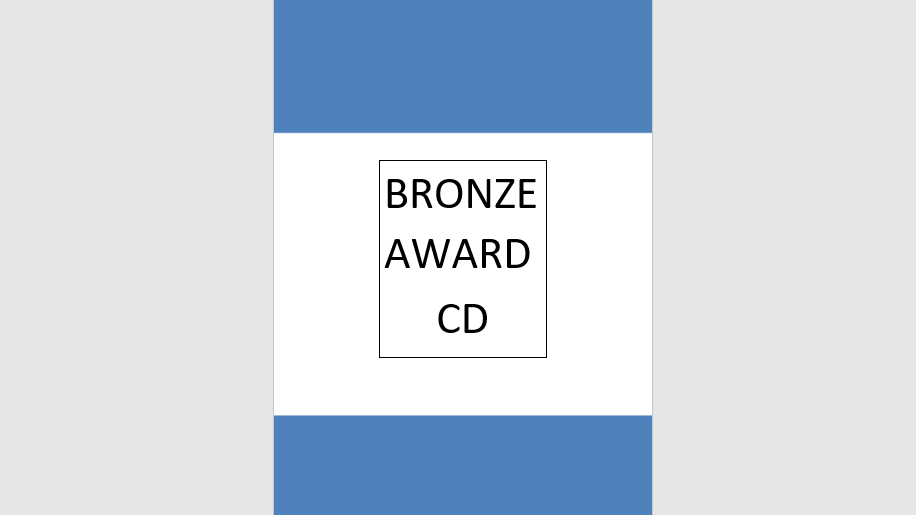 Bronze Award Syllabus Music