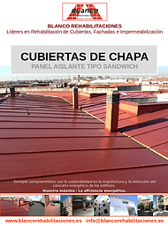 Catálogo Cubiertas de Chapa