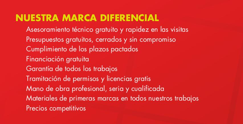 Nuestra marca diferencial en obras en comunidades de propietarios