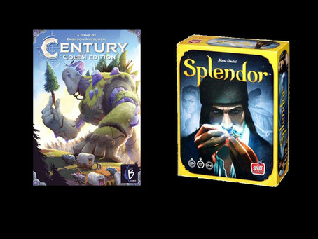 If you like Splendor you might also like Century: Golem Edition
