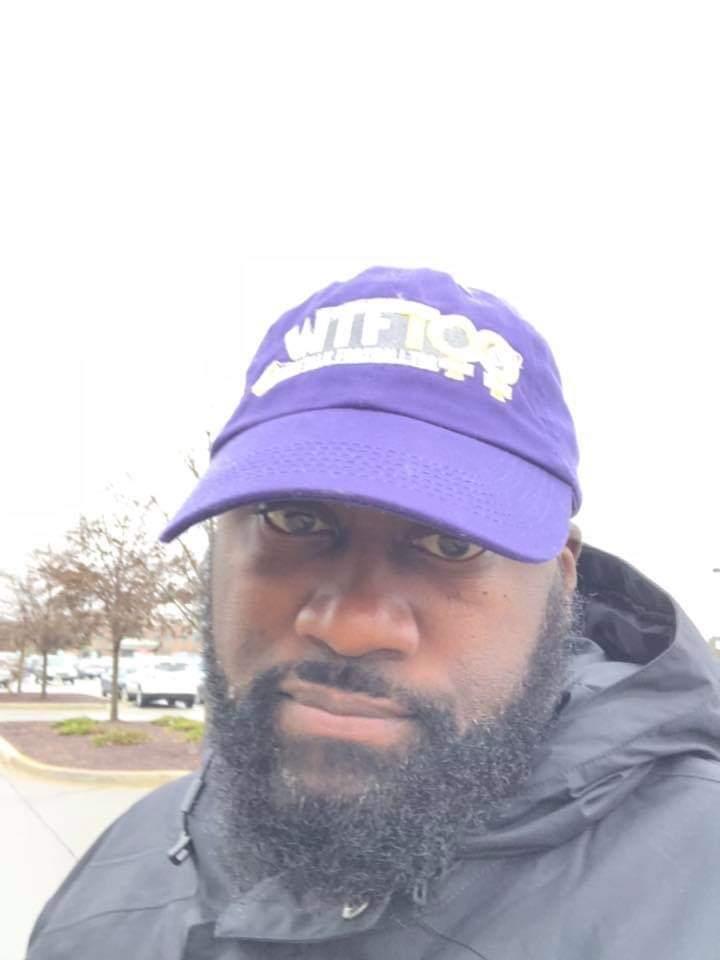 WTF Too Purple Custom Cap, Illinois