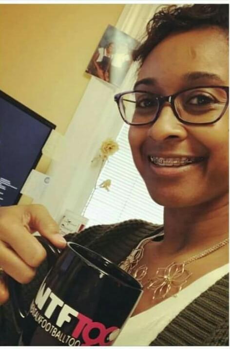 WTF Too Black 11 oz. Ceramic Mug, NC