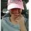 "Thumbnail: ""WTF Too: Women Talk Football Too"" Light Pink Adjustable Ball Cap"