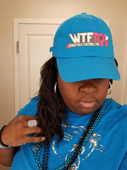 WTF Too Neon Panthers Cap, Charlotte