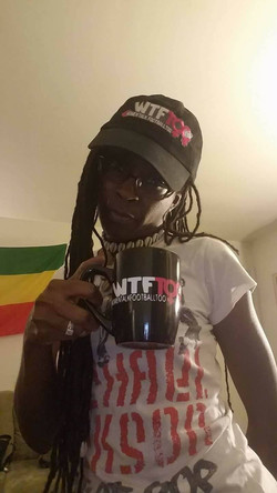 WTF Too Black Ceramic 11 oz. Mug, NJ