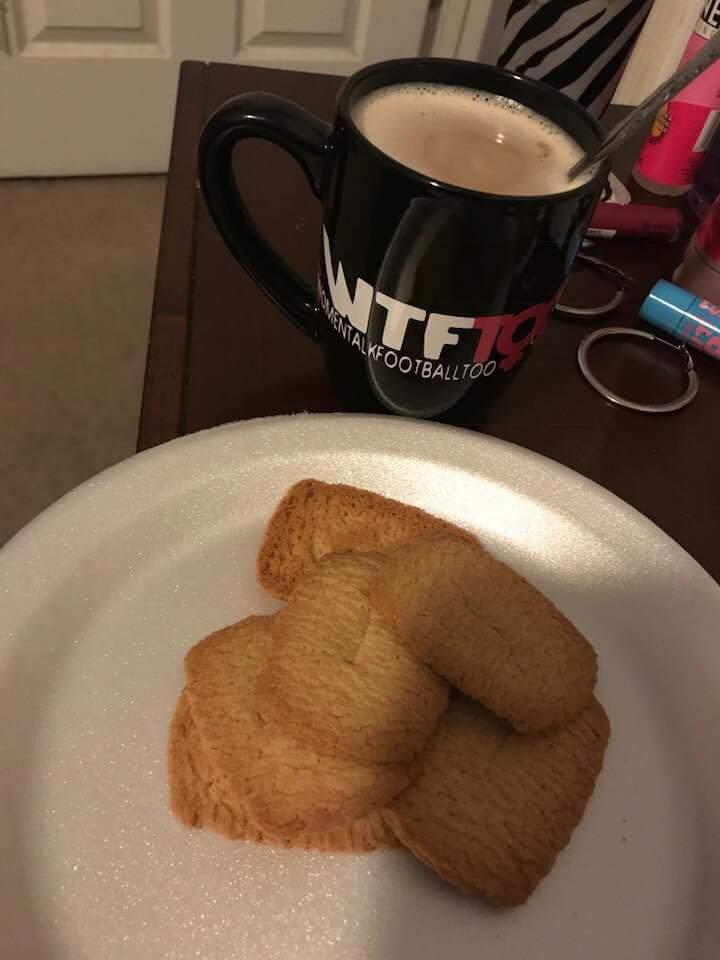 WTF Too 11 oz. Ceramic Mug, NC