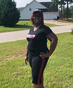 WTF Black Cap and Black Shirt, NC