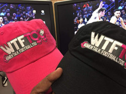 WTF Too Hot Pink and Black Caps, PA