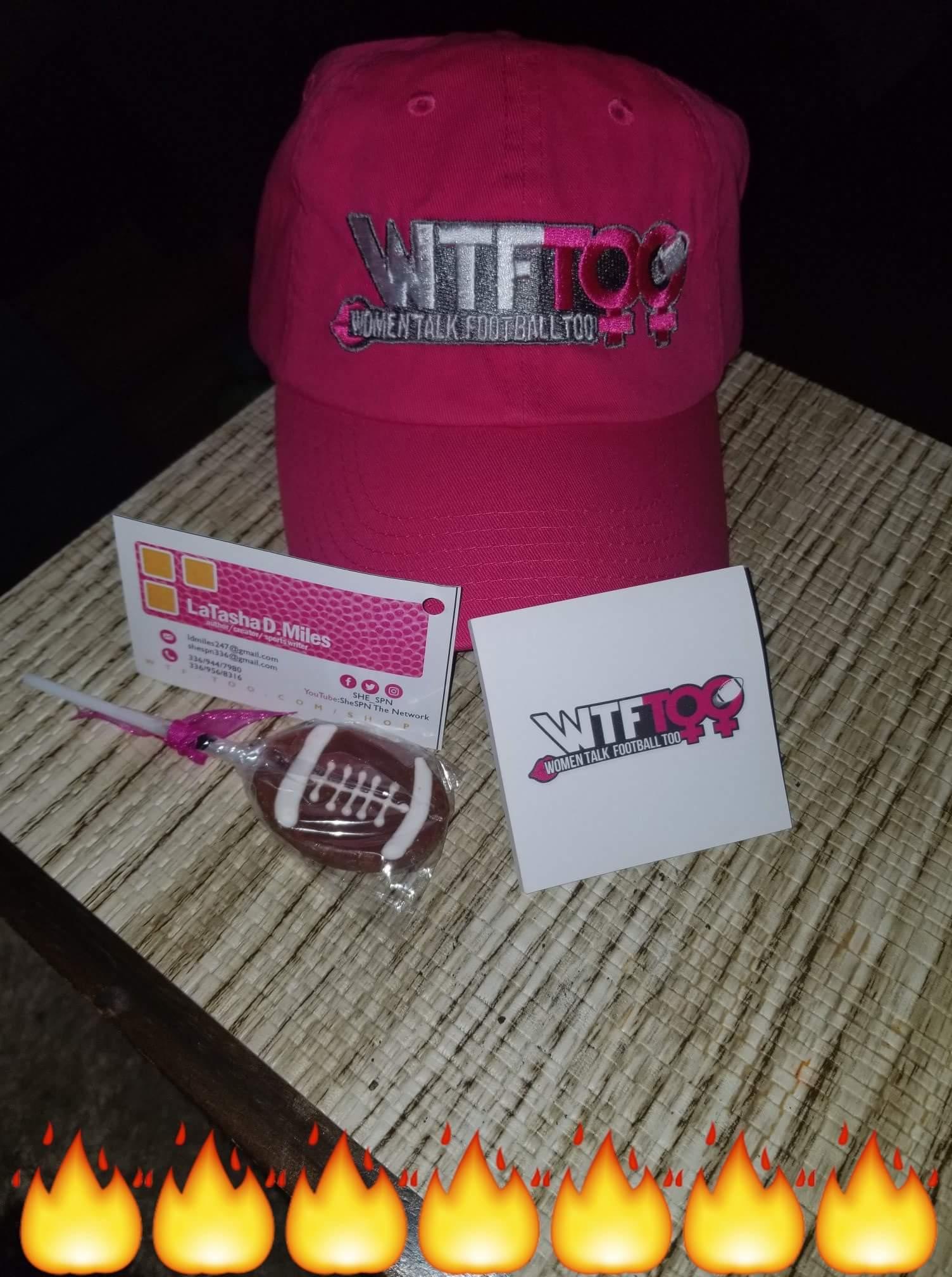 WTF Too Hot Pink Cap, SC