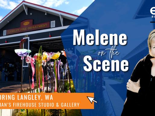 Melene on the Scene with Langley Glassblower Callahan McVay