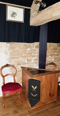 PLATEAU TRIANGULAIRE OFFICIANT SEPTENTRION