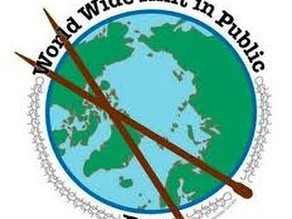 Worldwide Knit (or Crochet/Weave/Spin) in Public Day! And an HW contest!