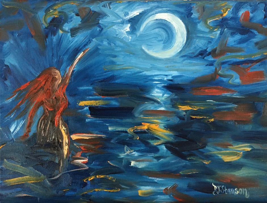 *SOLD* Night of Aquarius