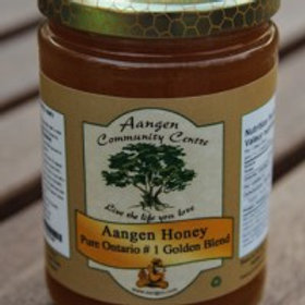 Aangen Natural Golden Unpasteurized Honey (Raw)